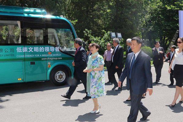 Edouard Fritch reçu par le vice-président chinois