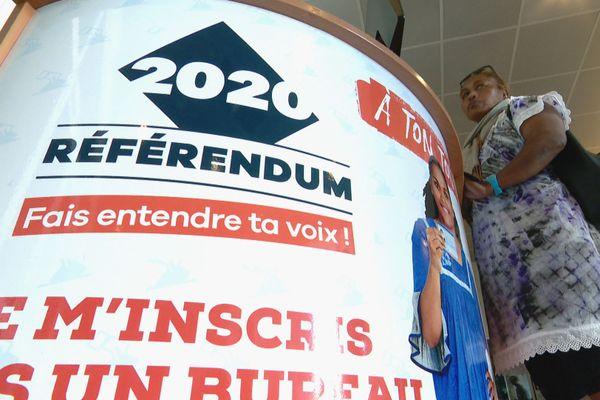 Inscription bureau décentralisé des iles référendum 2020
