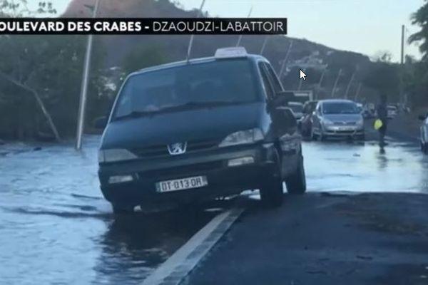 montée des eaux Mayotte