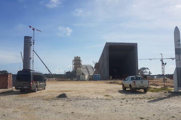 Visite étudiants BTP sur le chantier d'Ariane 6