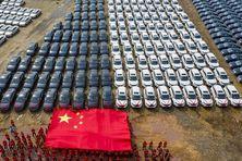 Usine d'automobiles électriques en Chine
