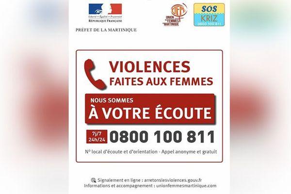 numéro violence femmes