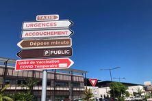 Affichage au Médipôle.