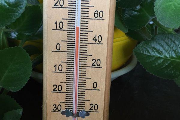 Thermomètre à 10 °