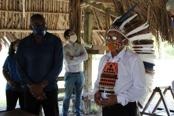 Coronavirus : opération masques pour tous dans les villages amérindiens