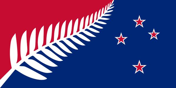 projet drapeau Nouvelel Zélande