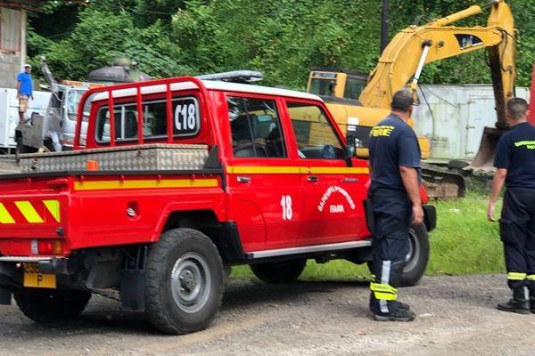 Les pompiers et le SAMU sont rapidement arrivés sur place