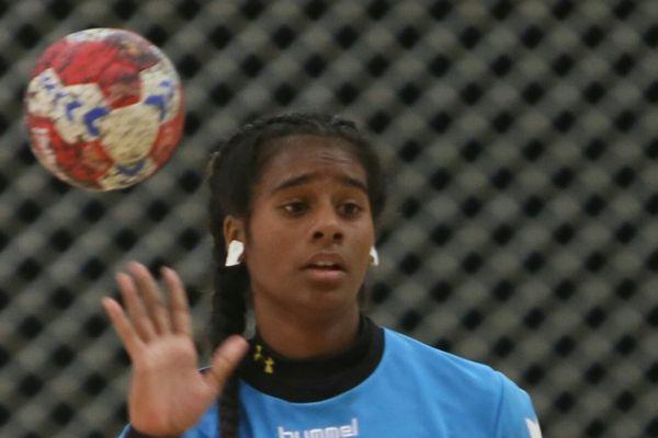 Cassidy Chambonnier à l'entraînement.