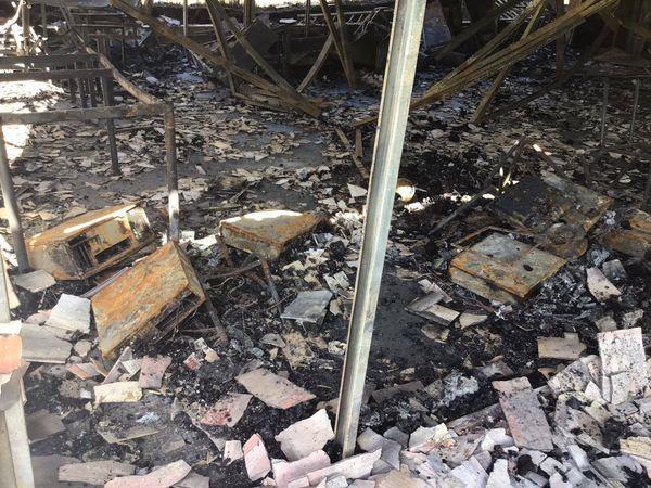 incendie école Oueholle