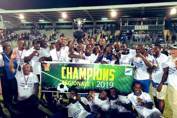 L'Amical Club de Capesterre est champion de la Guadeloupe de ...