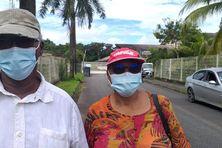 Hyppolite et Marthe Rozé, habitants de Ouanary, victimes d'un contrôle d'identité musclé sur le fleuve Oiapoque