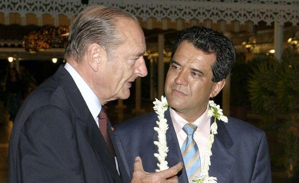 Edouard Fritch et Jacques Chirac