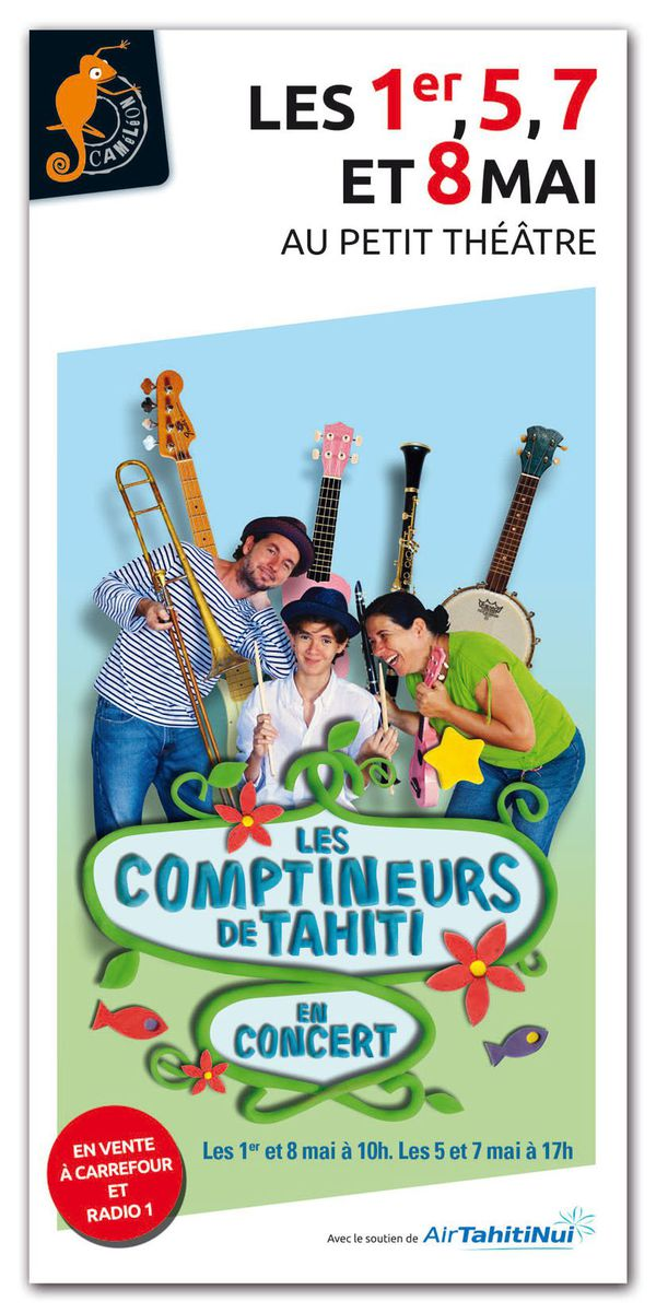 Les Comptineurs de Tahiti