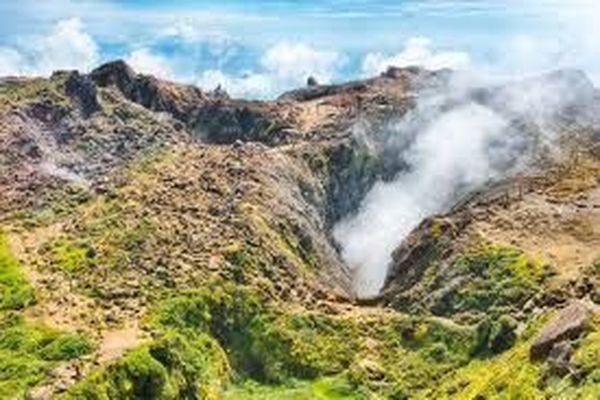 sommet de la Soufrière