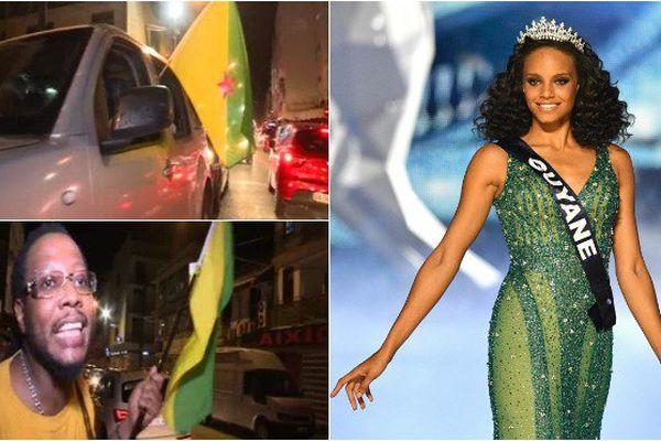 La Guyane exulte après l'élection d'Alicia Aylies devenue Miss France 2017