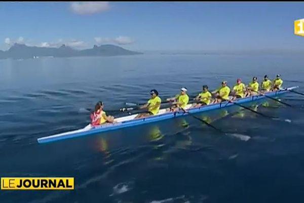 L'aviron s'invite à Hawaiki Nui Va'a