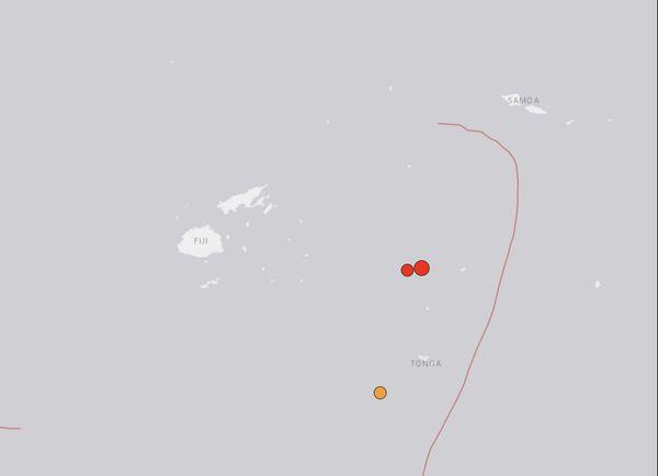 Séisme Tonga