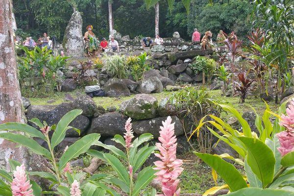 Site de Puamau - Festival des arts des Marquises