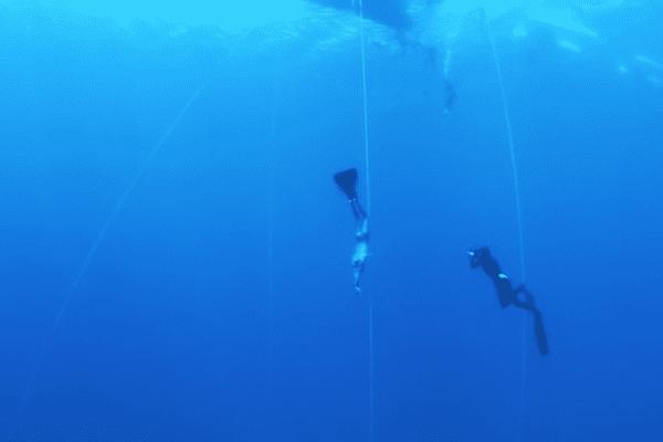 125m de profondeur