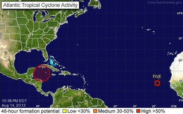 Activité cyclonique