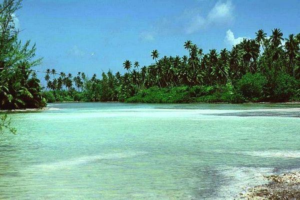 Le lagon des Chagos
