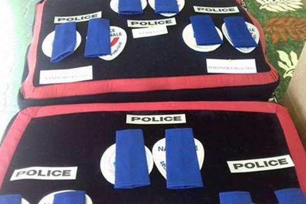 Les décorations des futurs gendarmes