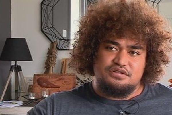 Malino Vanai joueur de rugby originaire de Futuna