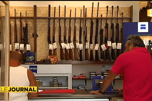 En Nouvelle-Calédonie, les ventes d'armes à feu s'envolent.
