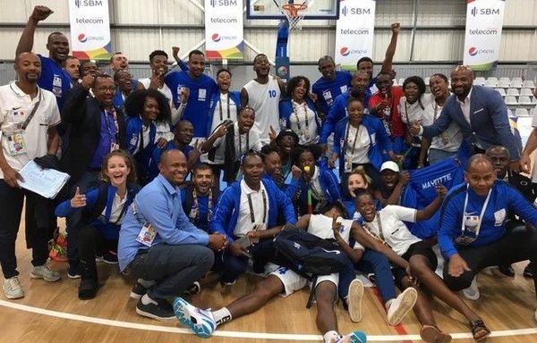 JIOI 2019 basket-ball victoire des Mahorais en demi-finale face aux Réunionnais 260719