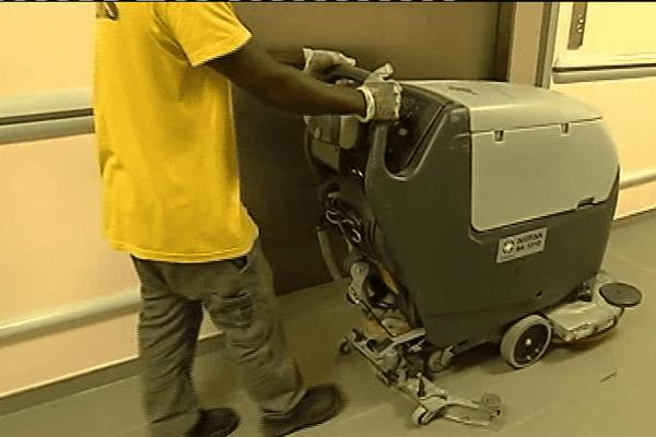 Hygiène à l'hôpital de Cayenne