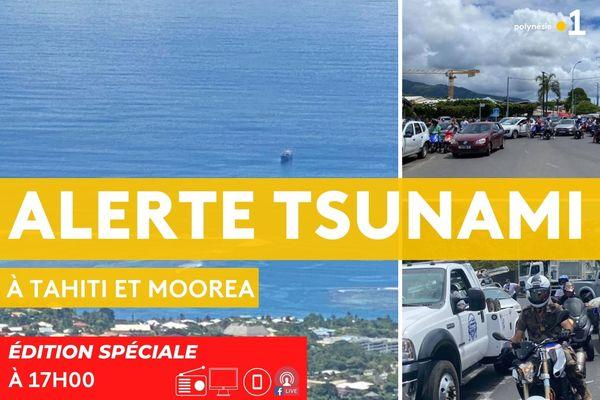 Edition spéciale : séisme en Nouvelle-Zélande - alerte au tsunami en Polynésie