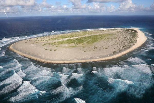 Ile de Tromelin située à 560 km au nord de La Réunion