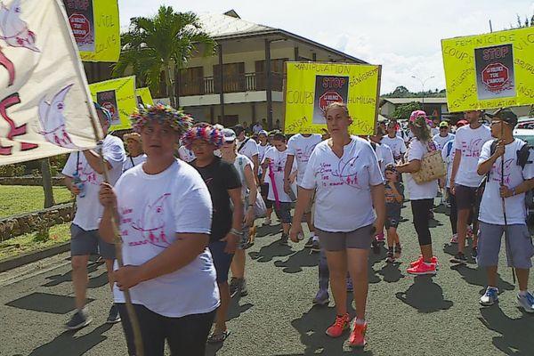 marche blanche violence femmes