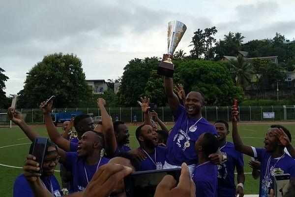 Jumeaux remporte sa troisième coupe de Mayotte
