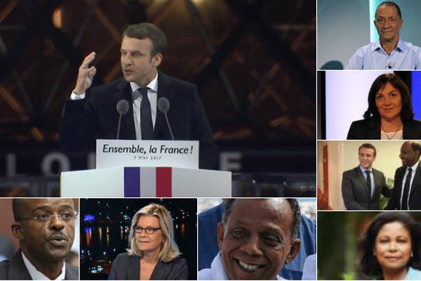 La galaxie Macron Outre-mer