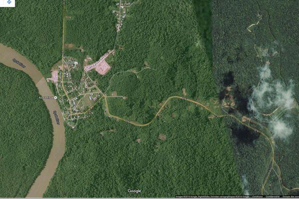 Map Roura