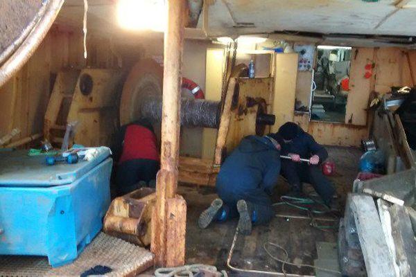 Pêche : le Béothuk immobilisé à Saint-Pierre pour une quinzaine de jours