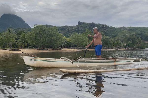 Moorea pêcheur
