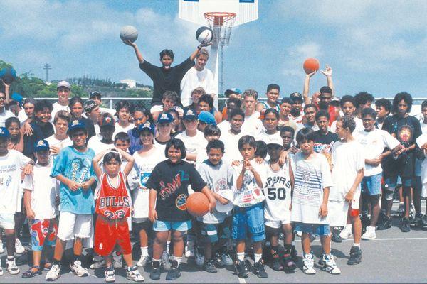 Le premier Sport Action à Nouméa, en 1998.