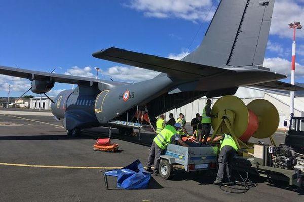 marée noire à maurice naufrage wakashio casa avion militaire envoi matériel 080820