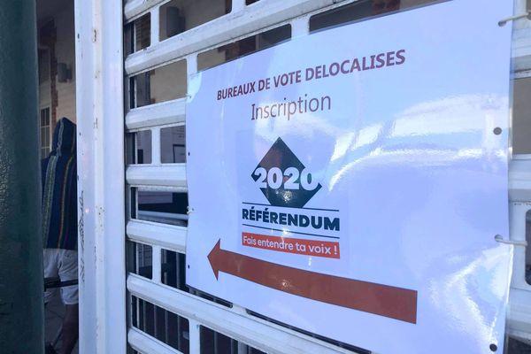 Référendum 2020, période complémentaire d'inscription aux bureaux de vote délocalisés (BVD)