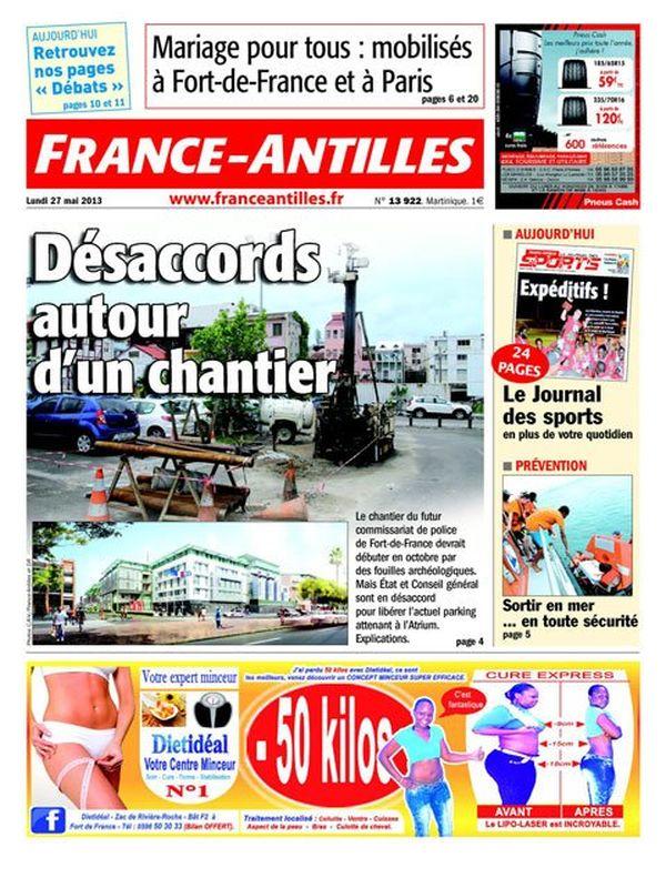Une FA Martinique 27/05