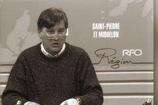 Aurélien Claireaux, présentateur du journal télévisé, chaîne Réseau France Outre-mer (RFO).