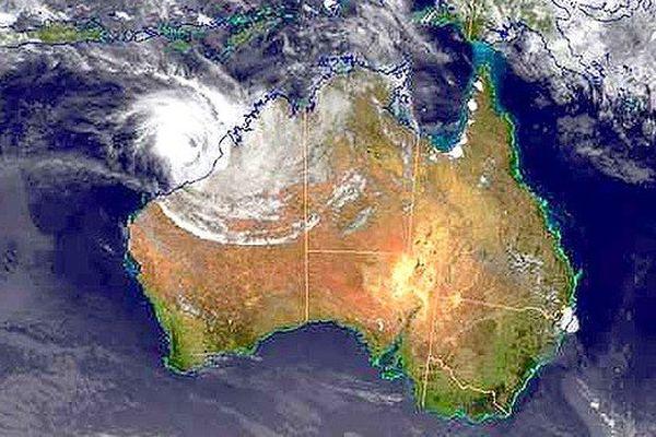 Cyclone Christine australie