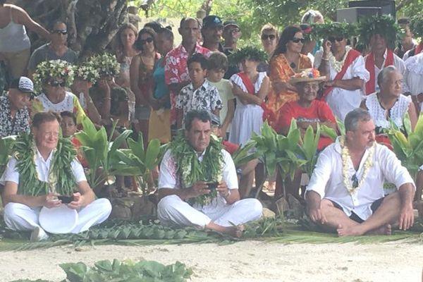 Journée hommage au marae Taputapuatea