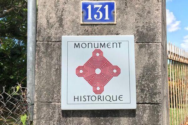 Maison d'Aimé Césaire, monument historique