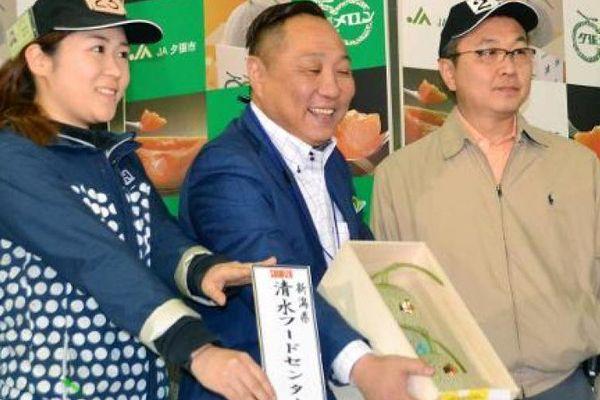 Japon : deux melons pour le prix d'une petite voiture