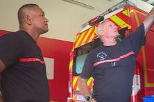 Sosefo Pauvale pompier en formation en Nouvelle Calédonie