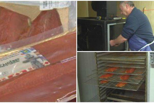 Techniques de fumage du saumon