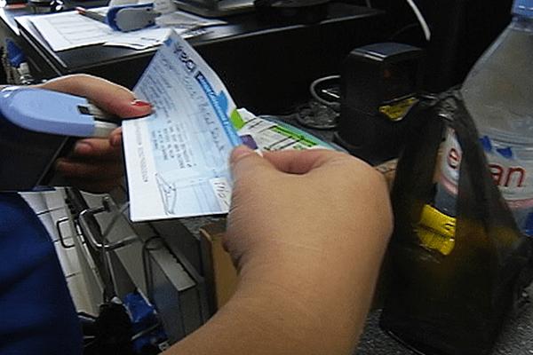 chèque station NC interdit